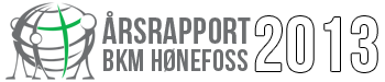 Årsrapport 2013 – BKM Hønefoss Logo