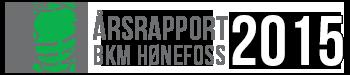 Årsrapport 2015 – BKM Hønefoss Logo