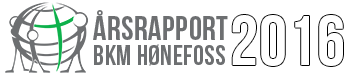 Årsrapport 2016 – BKM Hønefoss Logo