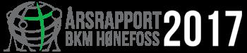 Årsrapport 2017 – BKM Hønefoss Logo